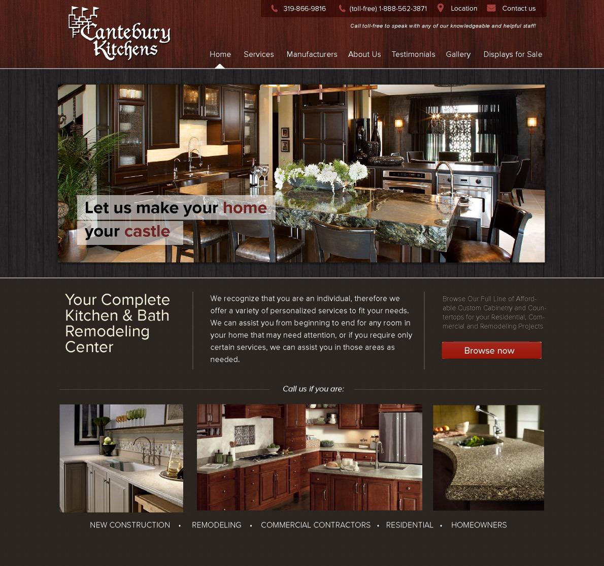 Cantebury Kitchens William Easton Design Digital Marketing Website Design Development And